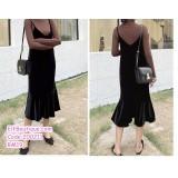 200211 Women Elegant Jumpsuit Black