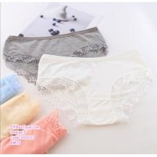 200221 Ladies Cotton Panties 6Pcs Set