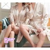 200226 Couple Wedding Pyjamas Set Red /Blue/Apricot/Green