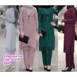 200278 Muslimah Set Top With Trousers