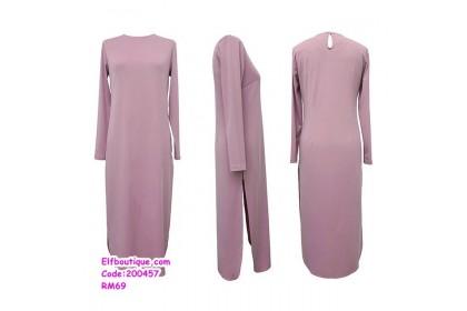 200457 Muslimah Set Wear Top + Trousers Casual Wear