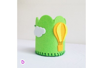 210144 READY STOCK Children Sewing Learning Cartoon Craft Animal/Hot Air Balloon/Flower/Fish/Clothes